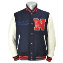 NEW ERA STADIUM jacket N PATCH (Navy/white/red)