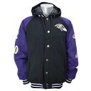 NFL Baltimore Ravens Sideline Cotton Parka jacket G-III