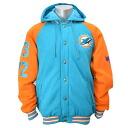 NFL Miami Dolphins Sideline Cotton Parka jacket G-III