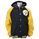 NFL Pittsburgh Steelers Sideline Cotton Parka jacket G-III