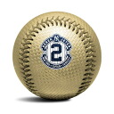 Rawlings MLB Derek Jeter Final Season Gold Carbon Commemorative baseball