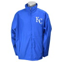 Majestic MLB Kansas City Royals Authentic Wind Jacket (blue)