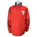 Majestic MLB Philadelphia Phillies Authentic Wind Jacket (red)