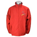 Majestic MLB St. Louis Cardinals Authentic Wind Jacket (red)