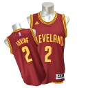 NBA Cavaliers # 2 Kiley and Irving 2014-15 New Swingman Jersey (road) Adidas