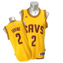 NBA Cavaliers # 2 Kiley and Irving 2014-15 New Swingman Jersey (alternate) Adidas