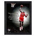 NBA bulls # 23 Michael Jordan 8 x 10 Pro Quote (Road Version) Photo File
