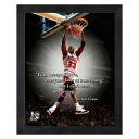 NBA bulls # 23 Michael Jordan 8 x 10 Pro Quote (Home Dunk) Photo File