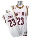 And the NBA Cavaliers # 23 LeBron James 2014-15 New Swingman jerseys (home) Adidas