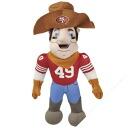 NFL San Francisco 49ers mascot dolls
