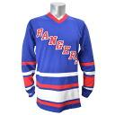 NHL New York Rangers 1 st Period Longsleeve shirt (blue) Mitchell &Ness