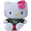 NFL Green Bay Packers Hello Kitty Shirtable Plush (big)