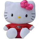 NFL San Francisco 49ers Hello Kitty Shirtable Plush (big)