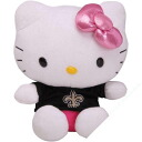 NFL New Orleans Saints Hello Kitty Shirtable Plush (small)