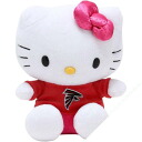 NFL Atlanta Falcons Hello Kitty Shirtable Plush (small)