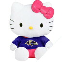 NFL Baltimore Ravens Hello Kitty Shirtable Plush (small)