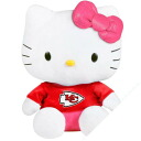 NFL Kansas City Chiefs Hello Kitty Shirtable Plush (small)