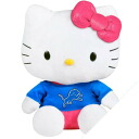 NFL Detroit Lions Hello Kitty Shirtable Plush (small)
