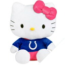 NFL Indianapolis Colts Hello Kitty Shirtable Plush (small)