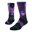 STANCE STRATOSPHERE GRIP socks (purple)