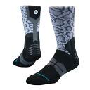 STANCE BOA GRIP socks (white)