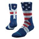 UNION STANCE GRIP socks (blue)