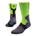 STANCE OVERTIME GRIP socks (lime)