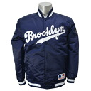 Majestic MLB Brooklyn-Dodgers vintage southern jacket (Navy)