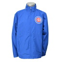 Majestic MLB Chicago Cubs Authentic Wind Jacket (blue)