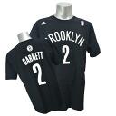 Adidas NBA nets # 2 Kevin Garnett NET NUMBER t-shirt (black)