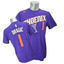 NBA Suns Adidas # 1 Golan-dragitch NET NUMBER t-shirt (purple)
