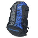 SPALDING NBA CAGER backpack (blue graph tea)