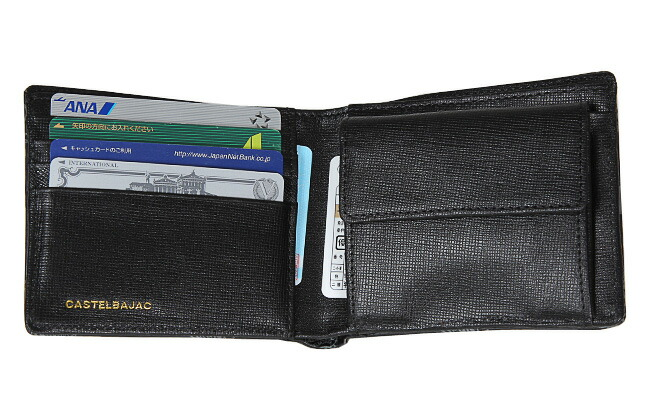 カステルバジャック 二つ折り財布 財布 CASTELBAJAC