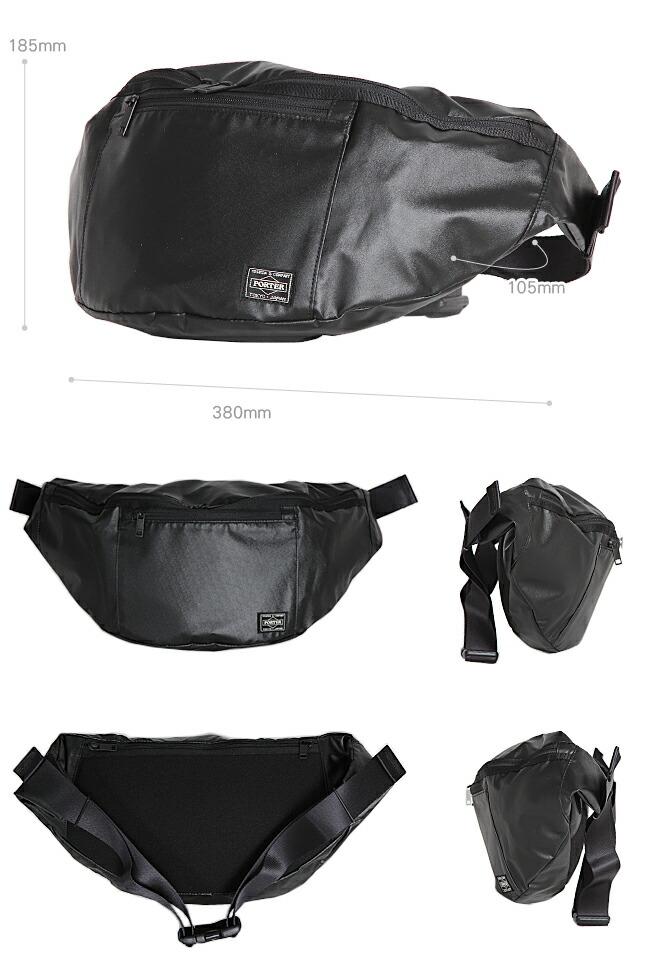ポーター タクティカル ウエストバッグ