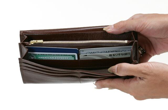 ポーター、「ベット」、革財布、長財布