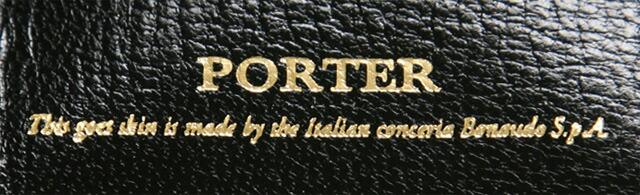 ポーター、「ベット」、革小物、名刺入れ