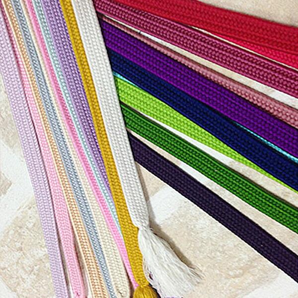 帯締め 平織 20色 着物