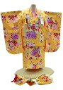 Arrival at 3 years old girl celebration - No. 305 (a kimono:) Yellow / overcoat: Yellow / overcoat set / 753) 60% OFF