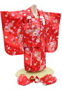 3-year-old girls celebrate wearing-No.315(clothes: Red / 被布: Red / 被布 set / 753) 60% off