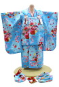 3-year-old girls celebrate wearing-No.321(clothes: Blue / 被布: Blue / set / 753 被布) 60% off