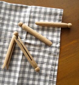 木製洗濯ばさみ