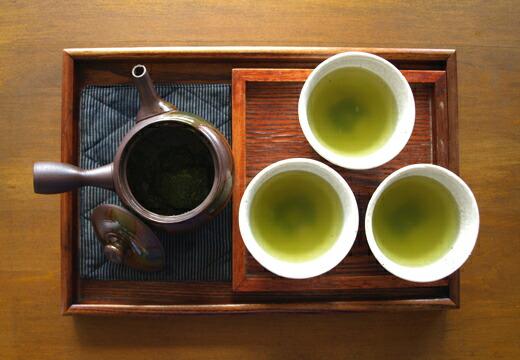 深蒸し緑茶