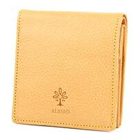 ALBERO(アルベロ) NATURE 小銭入れ付き二つ折り財布 5342