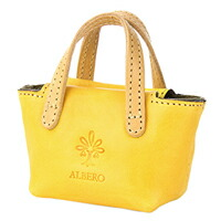 ALBERO(アルベロ) PIERROTバッグ型キーホルダー 6401