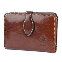 ALBERO(アルベロ)OLD MADRAS(オールドマドラス)小銭入れ付き 二つ折り財布  6511