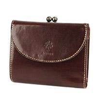 ALBERO(アルベロ) OLD MADRAS(オールドマドラス) がま口二つ折り財布  6518