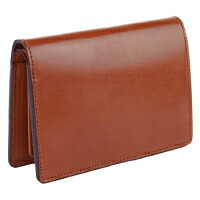 CORBO.(コルボ)-face Bridle Leather- 純札 二つ折財布(ミドルサイズ) 1LD-0235