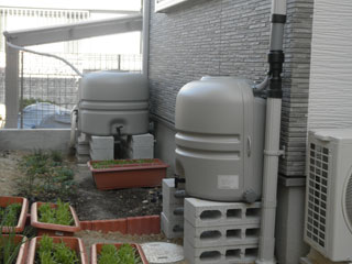 雨水タンク ホームダムミニ