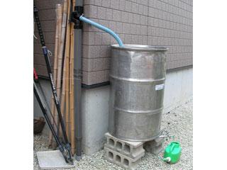 ステンレスドラム缶雨水タンク 舞姫天水