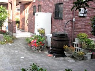 ウィスキー樽雨水タンク樽王250L